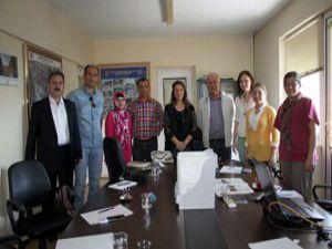 Eşrefoğlu Cami alan yönetimi çalışmaları devam ediyor