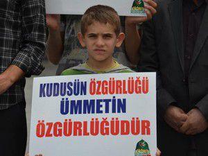 """Konyadan Kudüs Yürüyüşü""""ne destek"""
