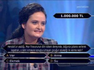 1 milyonu gören yarışmacıdan şok iddia