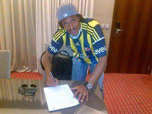 Bruno Alves Fenerbahçe forması giydi