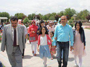 Diyarbakırlı çocuklar Konyayı gezdi