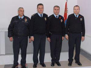 Konya polisi ödüllendirildi