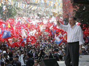 AK Partiden dev iki miting!