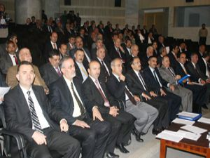 Toplantıda komisyon ve komisyon üyeleri belirlendi