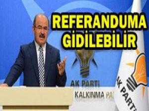 Gezi Parkı için referandum teklifi