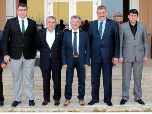 Konya SMMMO Başkanı Turandan MÜSİADa ziyaret