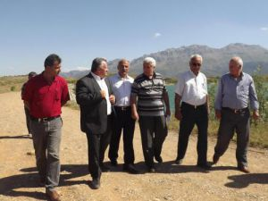 Tarım Komisyonu, Seydişehirde göletleri inceledi