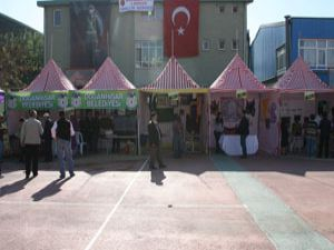 Konyanın ilçeleri festivalde tanıtıldı