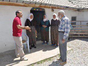Seydişehir kaymakamından Oğlakçı köyüne ziyaret
