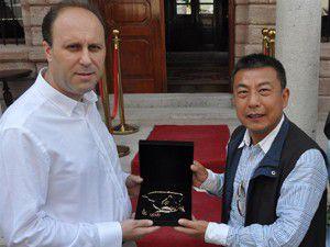 14 kişilik Çin heyeti Konyaya geldi