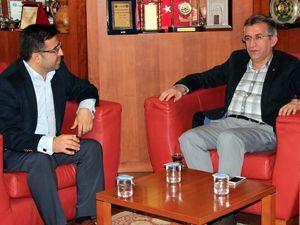 AK Parti başkanlarından MÜSİADa ziyaret