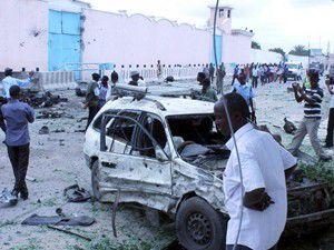 Somalide BM merkezine saldırı