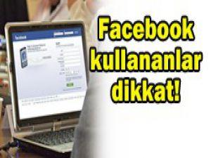 Facebooktan virüs uyarısı