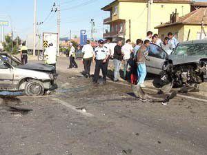 Konyada trafik kazası; 5 yaralı