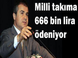 Ayda 666 bin lira ödeniyor