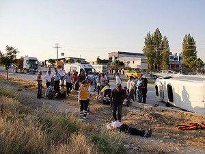 Ankarada trafik kazası: 17 yaralı