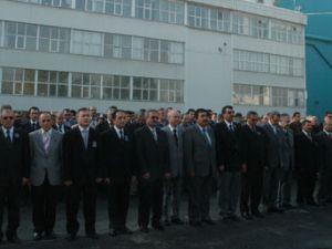 Konya Şeker'de Hüzünlü tören