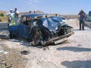 Konyada trafik kazası ; 3 ağır yaralı