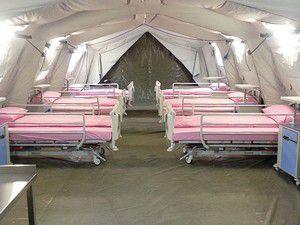 Azerbaycana Türk mobil hastanesi