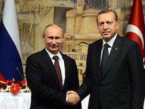 Başbakan Erdoğan, Putin ile Suriyeyi görüştü