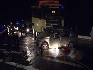 Ankara Konya karayolunda feci kaza; 5 ölü