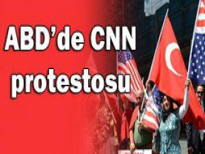 ABDdeki Türkler CNNi protesto etti