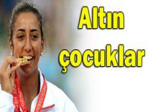 Akdeniz Olimpiyatlarının altınları
