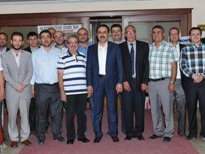 Elektrikçilerden KTO Başkanı Öztürke ziyaret