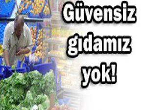 Türkiyenin gıda güvenliği sorunu yok