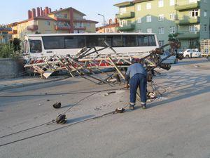 Konyada trafik kazası ; 5 yaralı