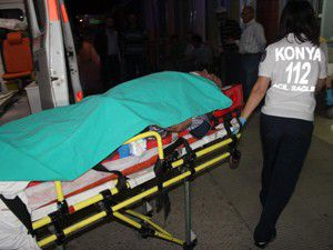 Konyada zincirleme trafik kazası ; 3 yaralı