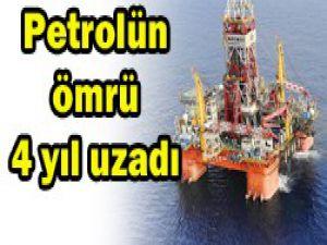 Petrol rezerv ömrü 48,8 yıla çıktı