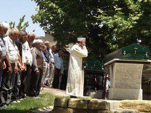 Konyada ölen 5 kişi son yolculuğa uğurlandı