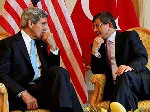 """Davutoğlu, Kerryye """"dinleme """"skandalı""""nı sordu"""
