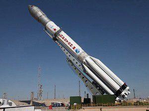 Rus uydularını taşıyan roket düştü