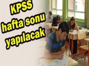 KPSS 6-7 Temmuz tarihlerinde