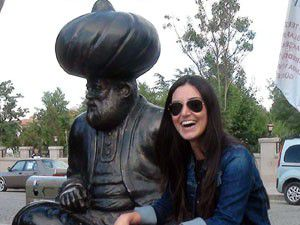 Sevcan Orhan, Akşehirde konser verdi