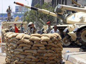 Mısır ordusu harekete geçti