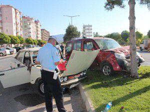Konyada trafik kazası 5 yaralı