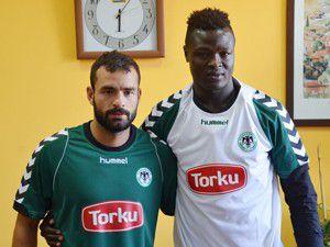 T.Konyaspor iki oyuncuyla sözleşme imzaladı