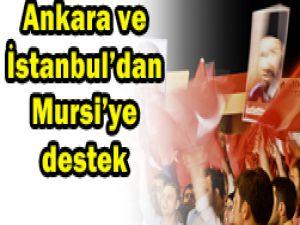 Türkiyeden Mursiye destek