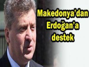 Makedonyadan Erdoğana destek var