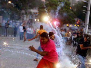 Mısırdaki protestolarda 72 kişi öldü