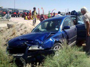 Konyada trafik kazası 6 yaralı