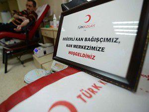 Türkiye kan bağışlıyor