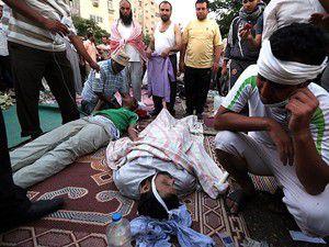 Kahirede ordu halka ateş açtı: 34 ölü, 300 yaralı