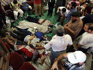 Kahirede 53 ölü 300den fazla yaralı var