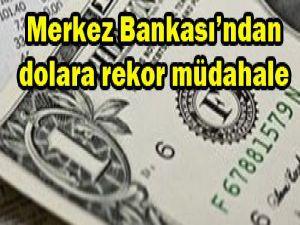 Merkez Bankasından dolara müdahale