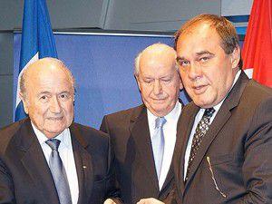Blatter ve Demirören toplantı düzenleyecek