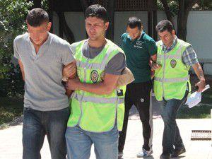 Sahte altın çalan hırsızlar tutuklandı